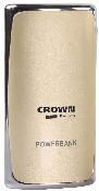 CROWN Powerbank 5200 mAh, zlatá