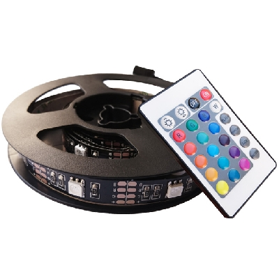 LED TV STRIP vč. USB adpt.,60cm,IP20,RGB