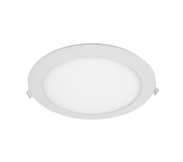 LED PANEL KRUH ECO ZAPUSTENÝ 18W 6400K D170mm (99LED962CW)