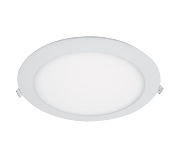 LED PANEL KRUH ECO ZAPUSTENÝ 24W 6400K D195mm (99LED963CW)