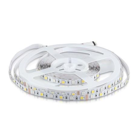 RGB+WW LED pás do interiéru 5050 60 SMD/m 5m bal. (VT-2553)