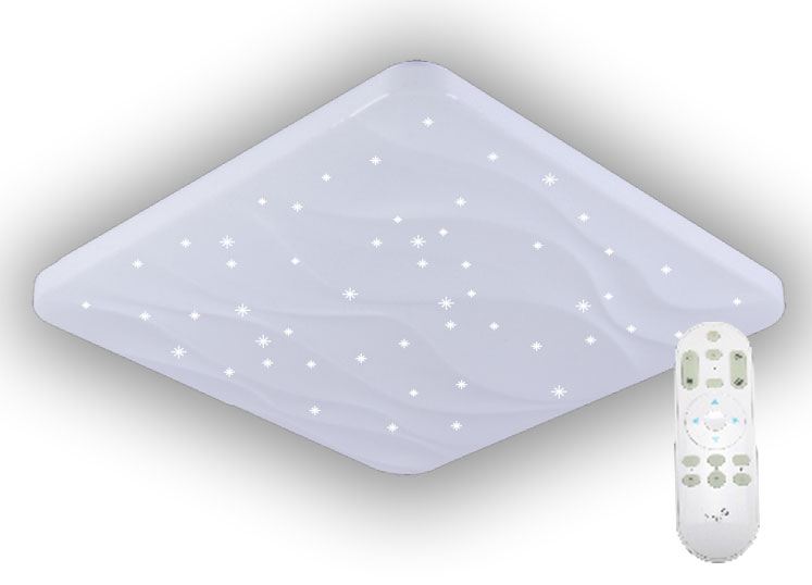 LED svietidlo 50W + diaľkový ovládač + star efekt (LC811W/S)