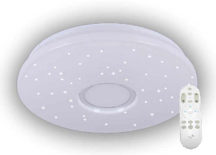 LED svietidlo 50W + diaľkový ovládač + star efekt (LC811U)