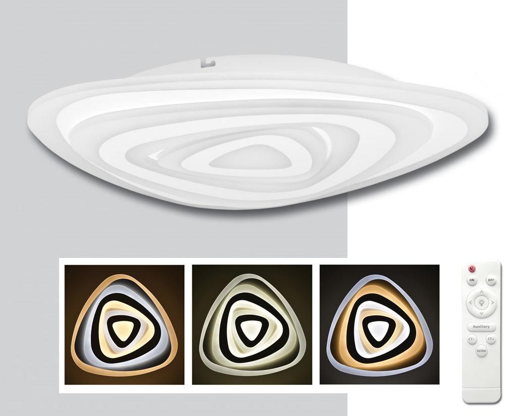 LED VELA stmievateľné stropné svietidlo s DO (WALP03-60W/LED)