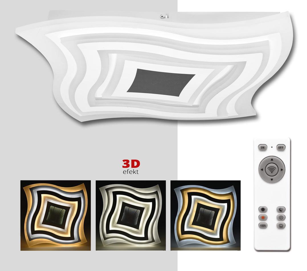 LED ARTE 3D stmievateľné stropné svietidlo s DO (WALP04-3D/LED)