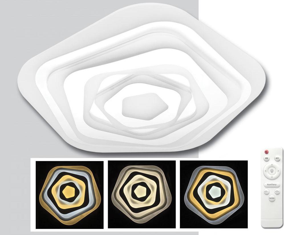 LED DRAGO stmievateľné stropné svietidlo s DO (WALP05-80W/LED)
