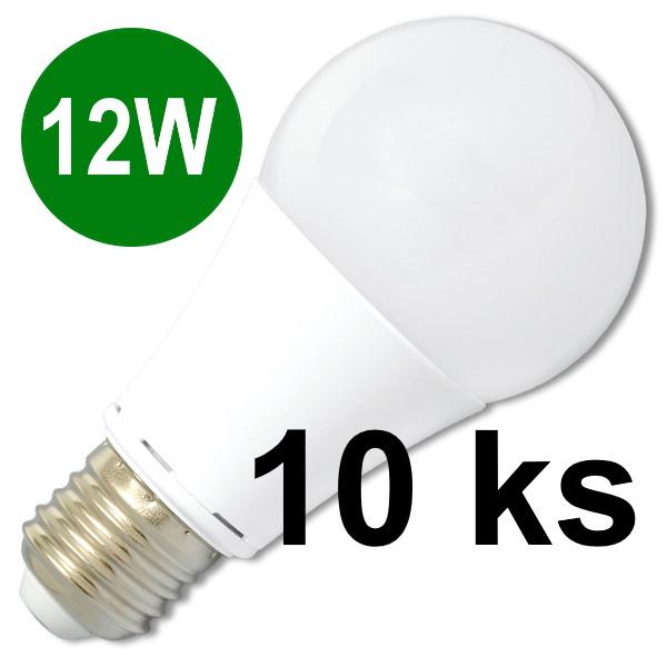 Ecolite LED žiarovka E27 12W studená biela