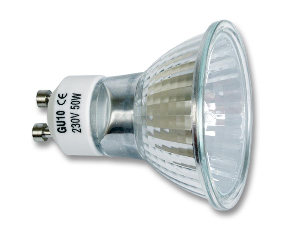Halogénová žiarovka GU10-50W (GU10-50)