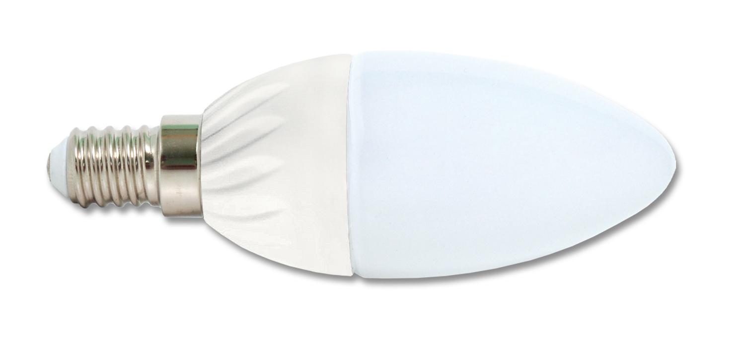 Ecolite LED žiarovka E14 5W studená biela