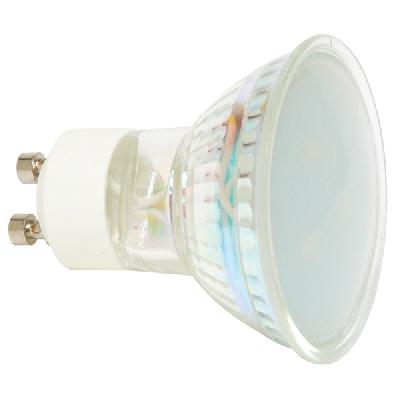 LED bodová žiarovka 1W/2700K/GU10 (EURLED3SMD-GU10/2700)