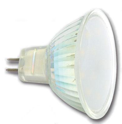 LED bodová žiarovka 4,5W/2700K/GU5.3 (LED12SMD-MR16/2700)